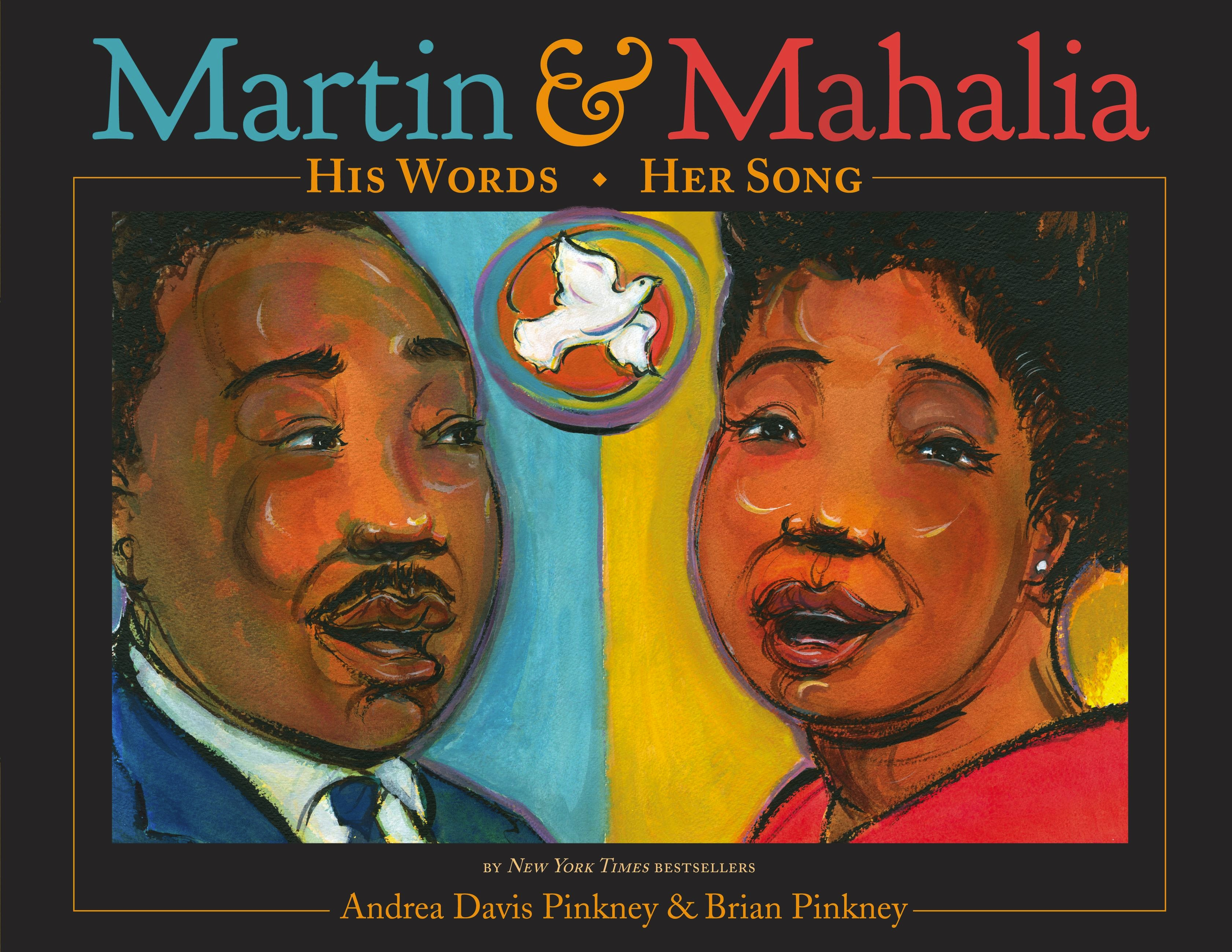 Martin Amp Mahalia His Words Her Song Little Brown