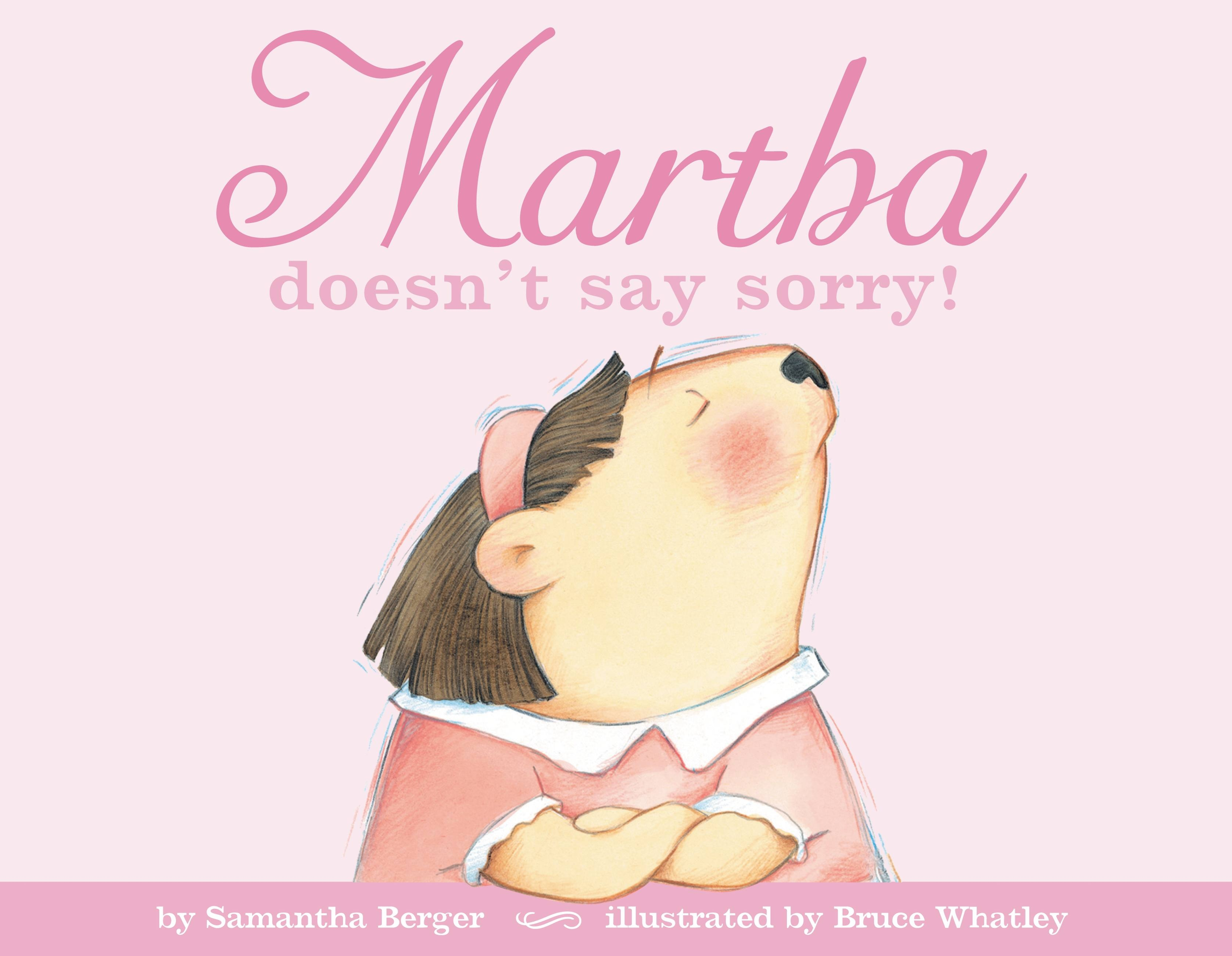 Image result for martha doesn't say sorry