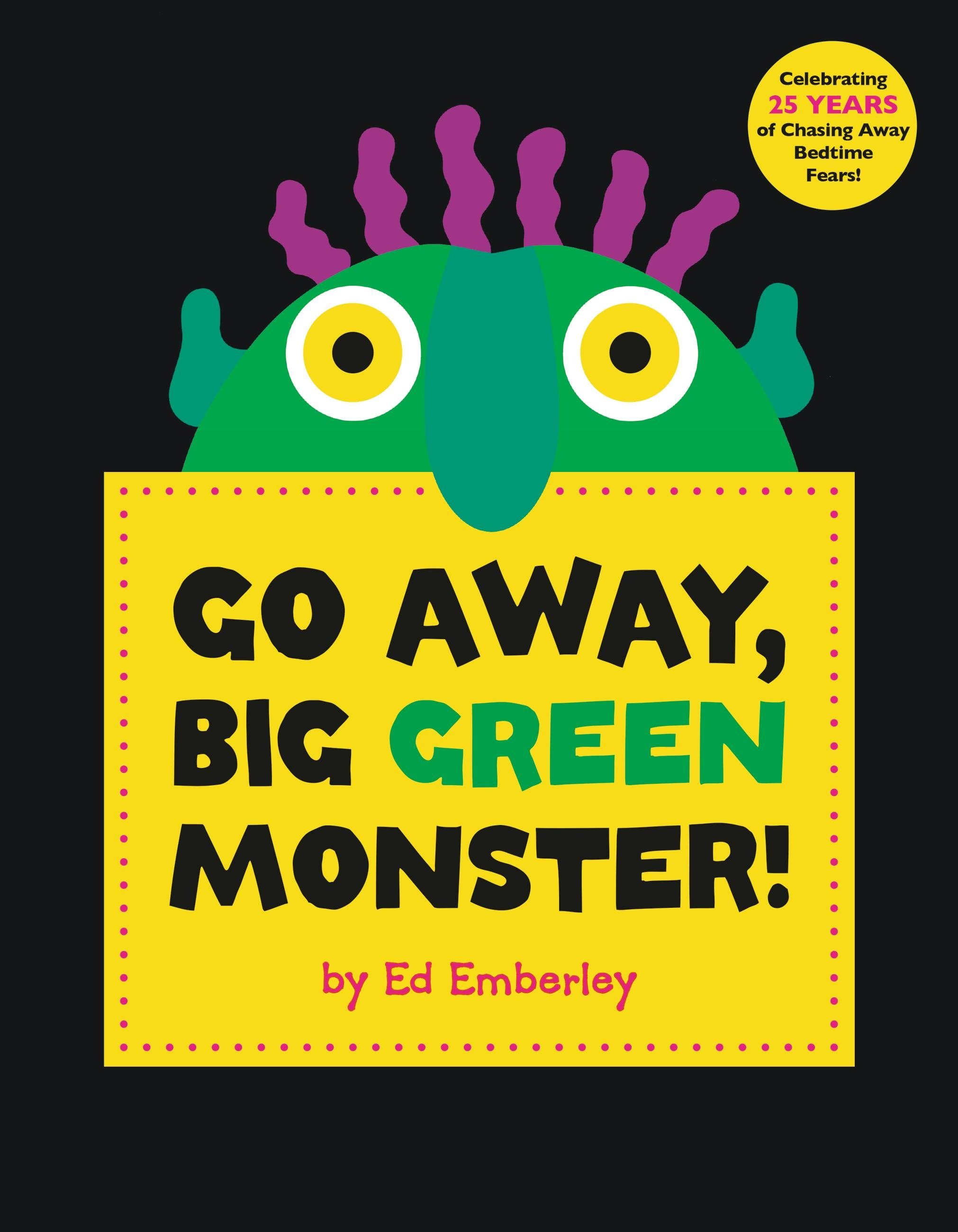 Irresistible image pertaining to go away big green monster printable book