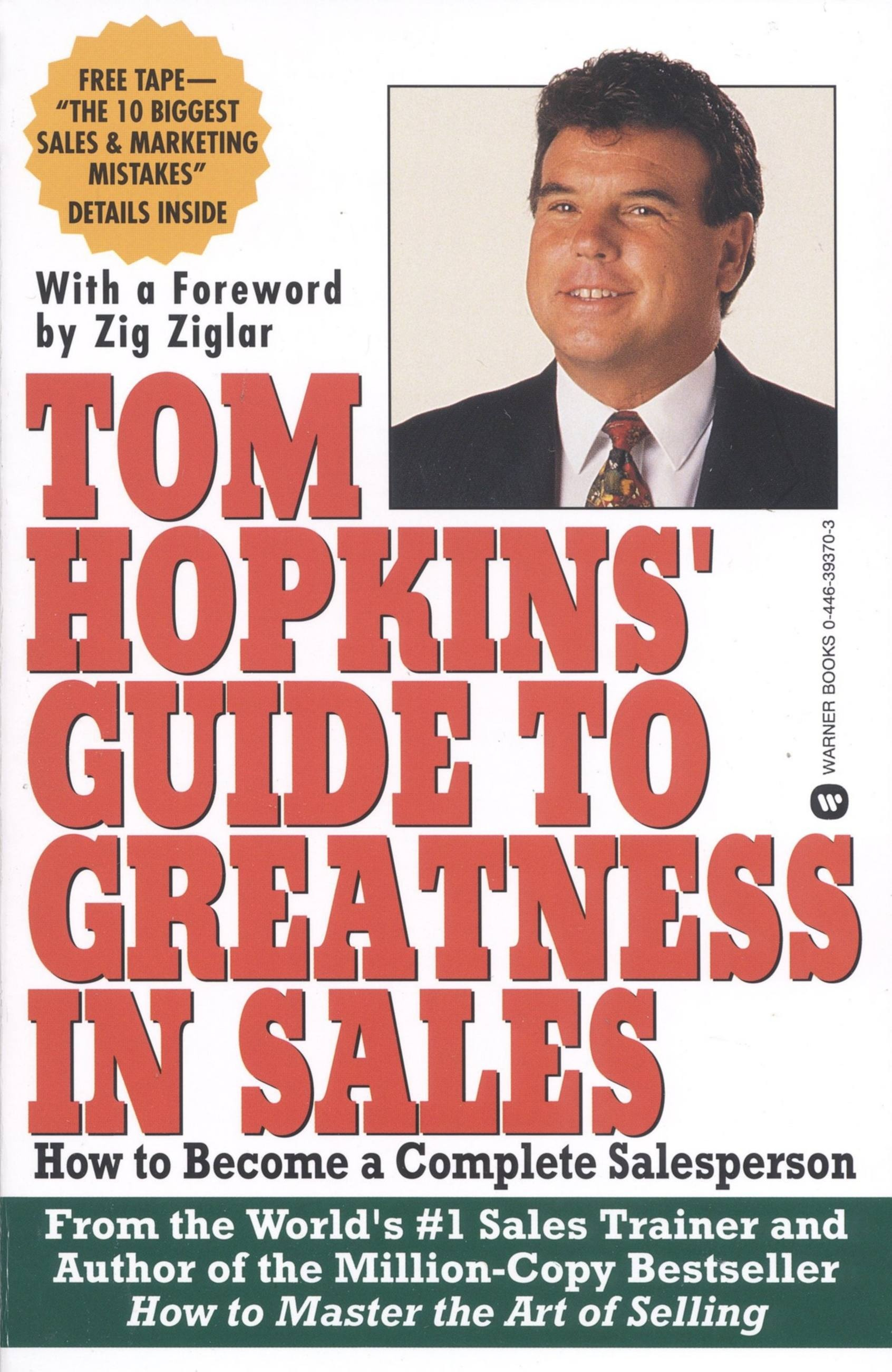 Tom Hopkins Guide to Greatness in Sales