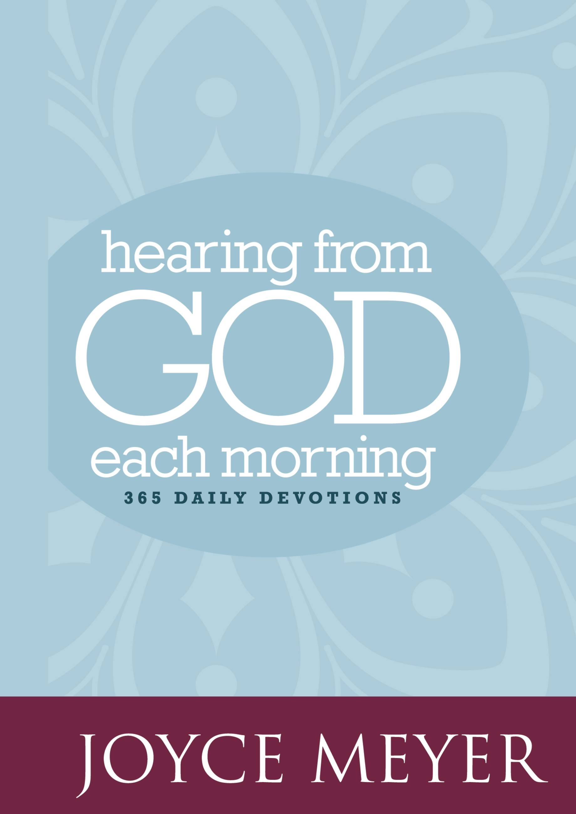 Hearing from God Each Morning