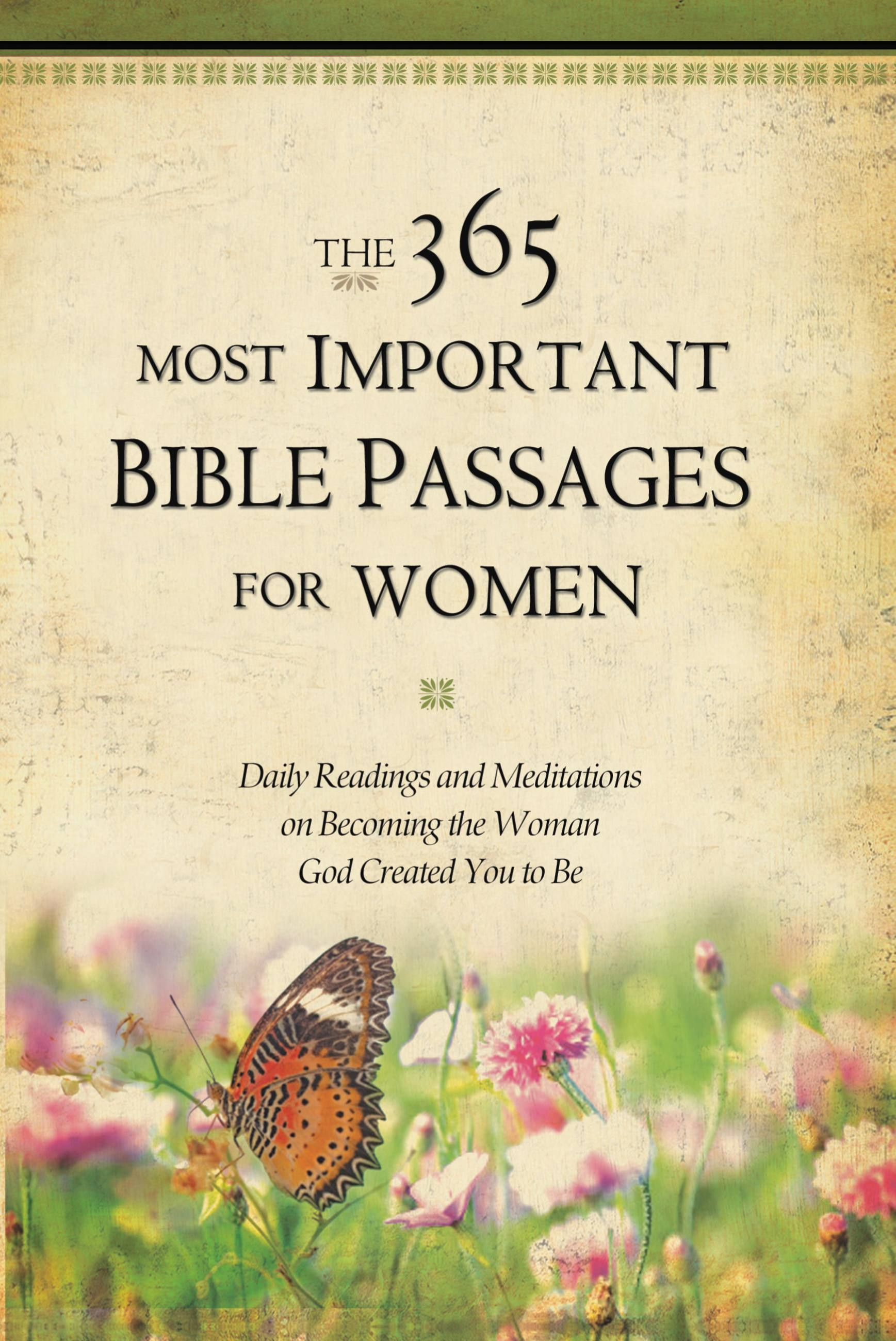 The 365 Most Important Bible Passages for Women