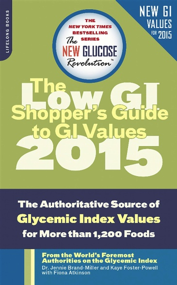 The Shopper's Guide to GI Values
