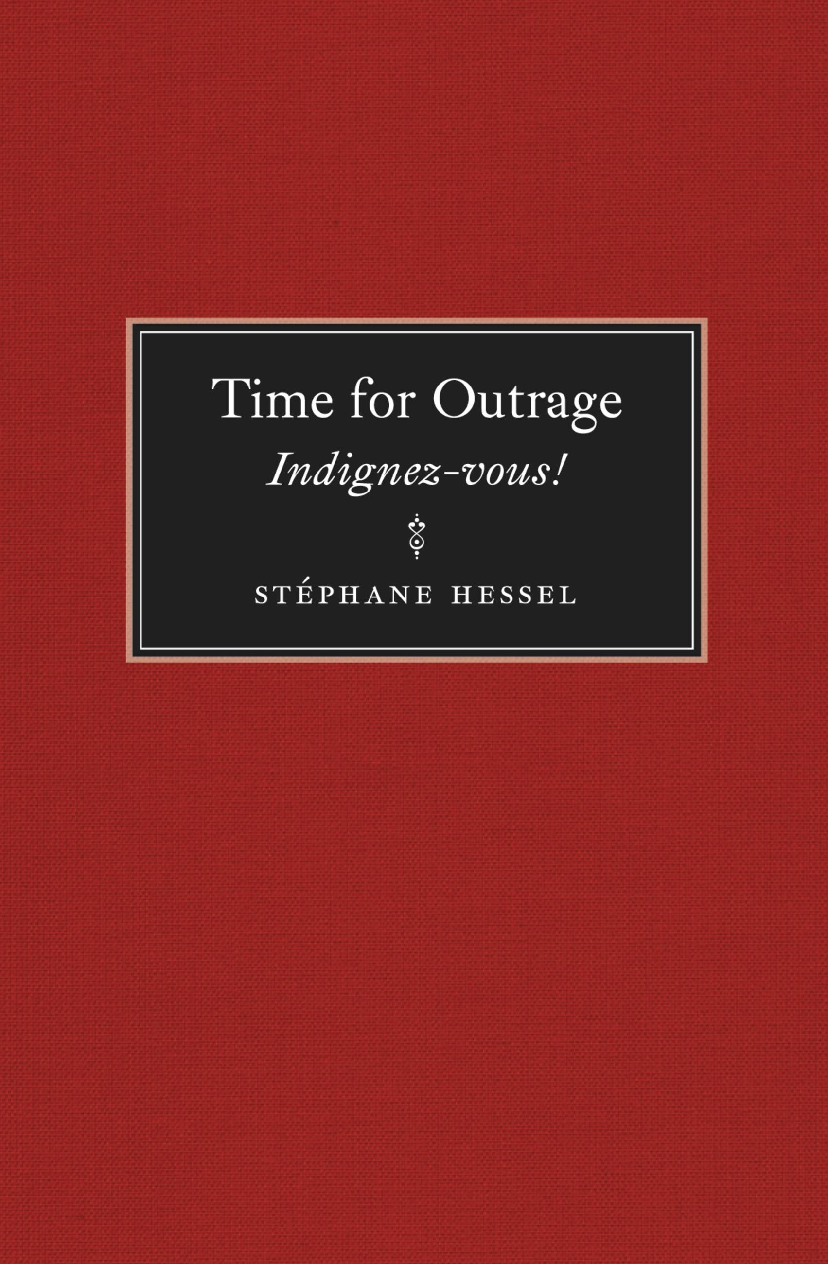 Time for Outrage