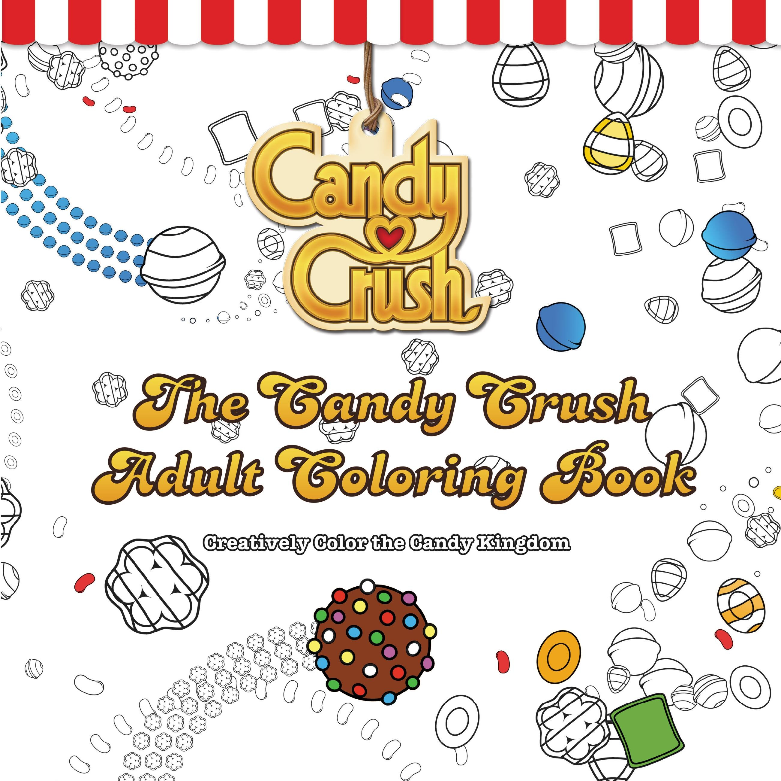 The coloring book clean - The Candy Crush Adult Coloring Book
