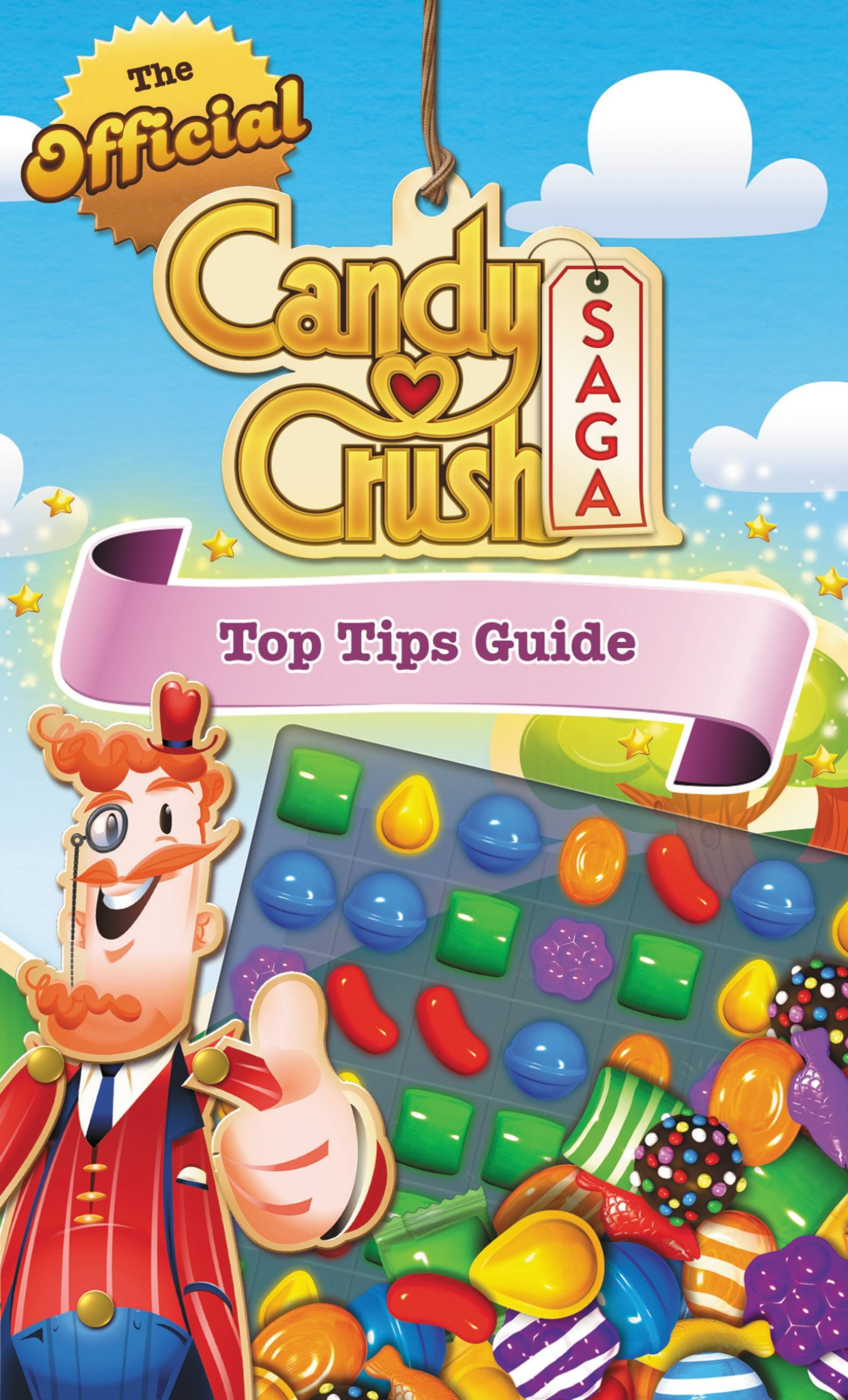 Coloring book with guide - The Candy Crush Adult Coloring Book The Official Candy Crush Saga Top Tips Guide