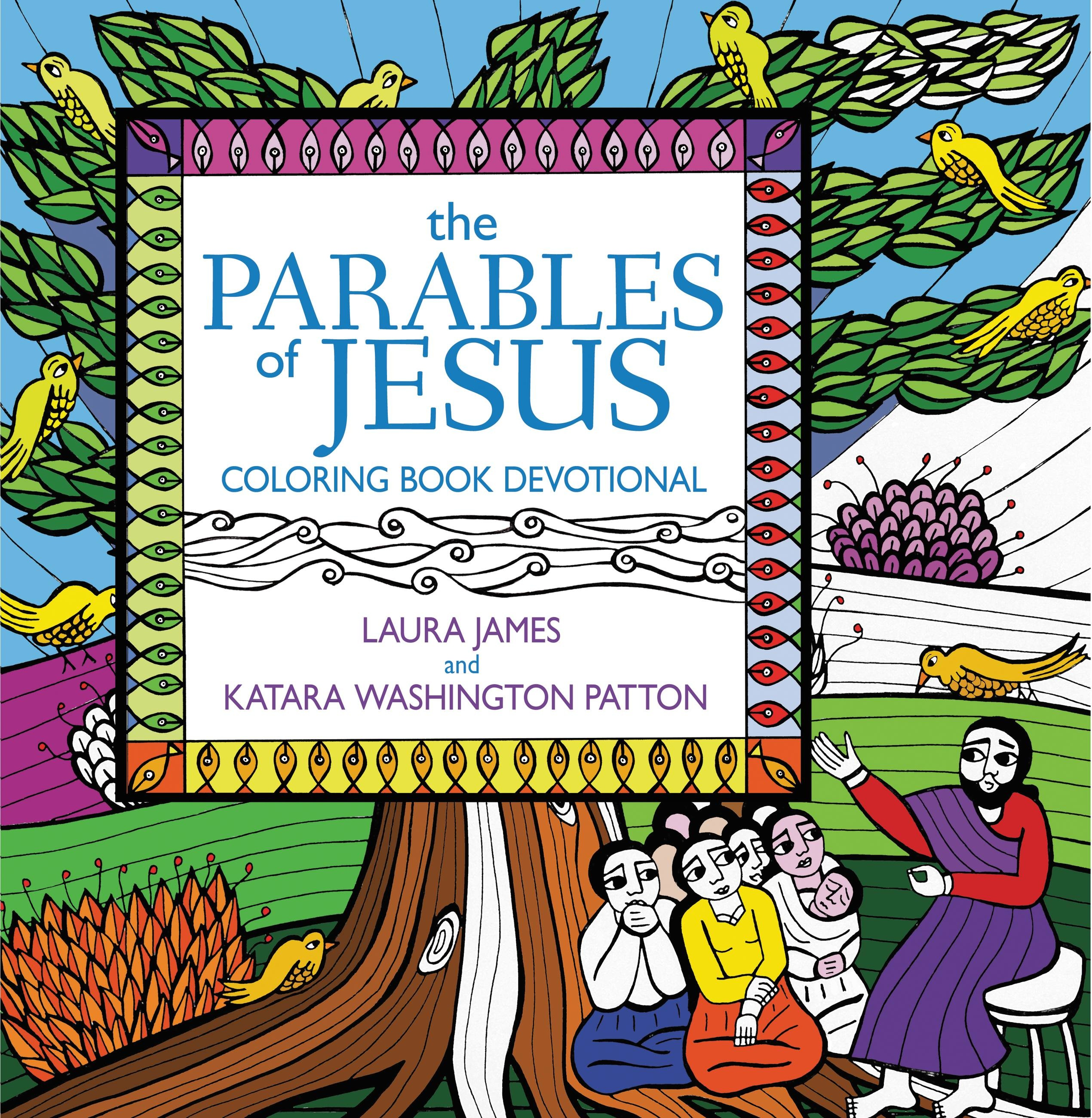 Parables of Jesus Coloring Book Devotional