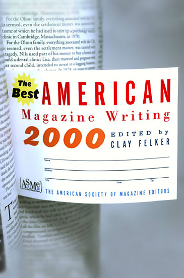 The Best American Magazine Writing 2000