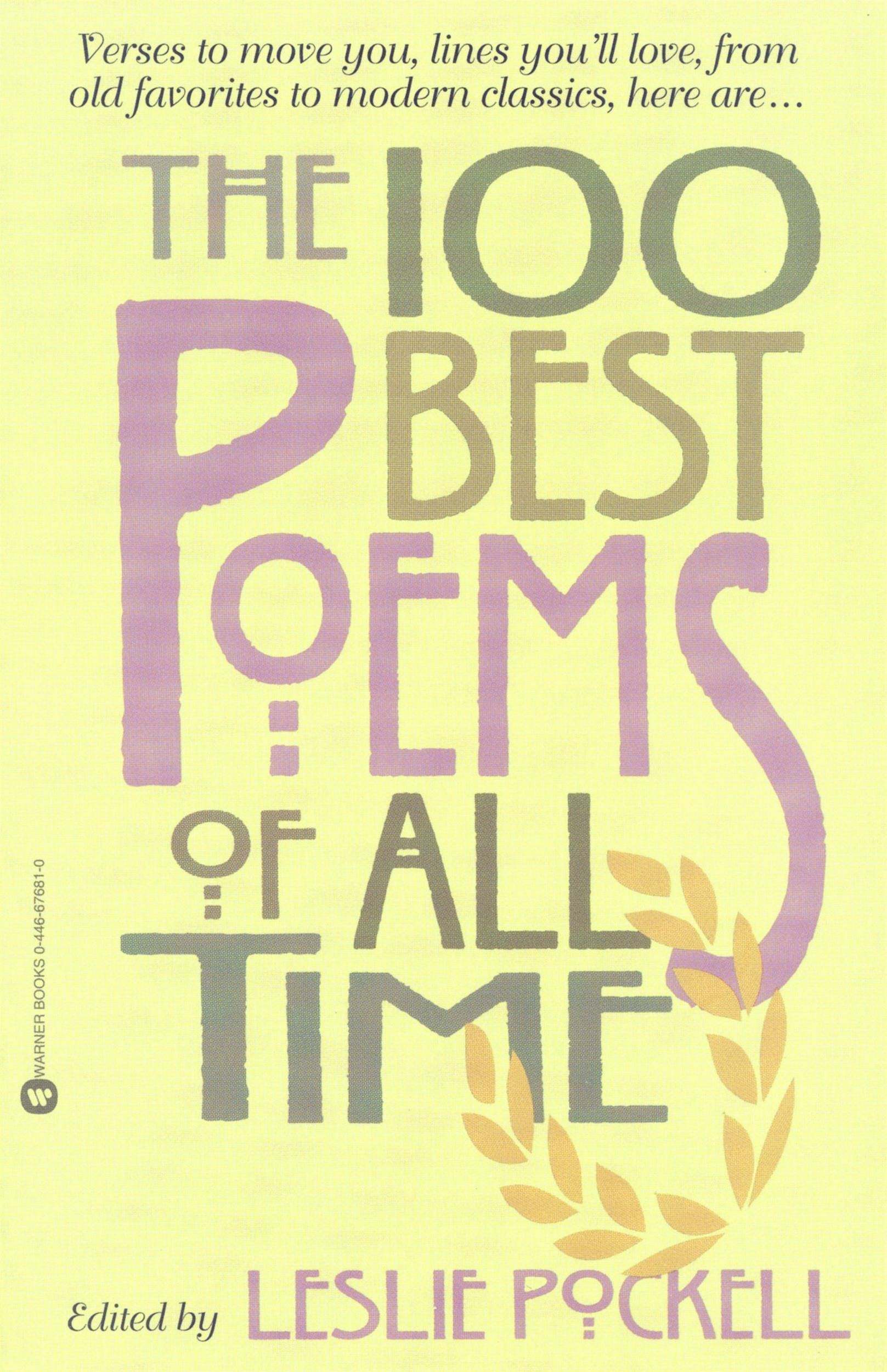 100 Best Poems of All Time, The - Part I