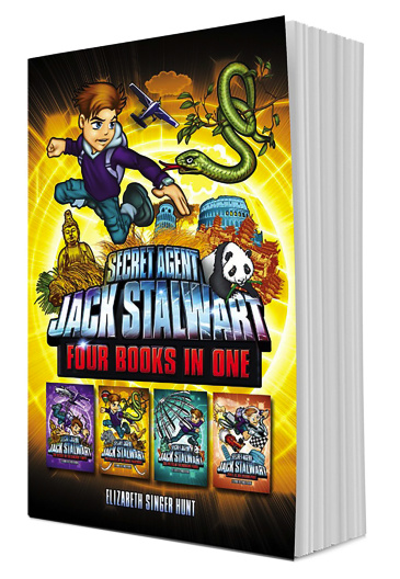Secret Agent Jack Stalwart (Books 5-8)